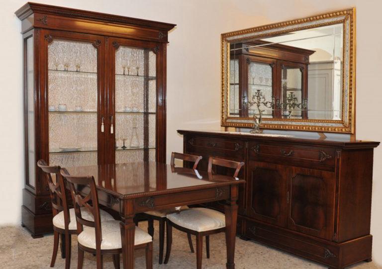 Sala da pranzo collezione Grande Stile palmobili potì arredamenti novoli 2