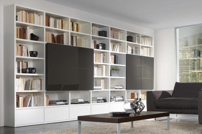 librerie e pareti potì arredamenti novoli
